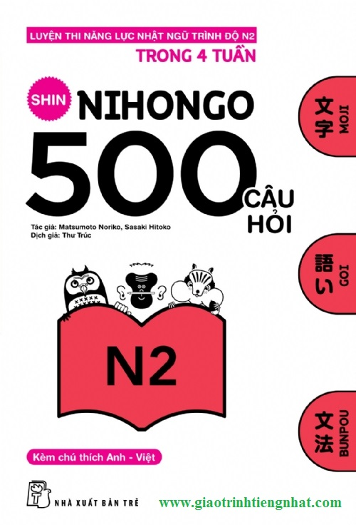 Lifestyle designShin nihongo 500 câu hỏi N2 - Có tiếng Việt