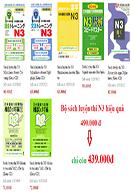 Lifestyle designBộ Sách Luyện Thi N3 Hiệu Quả - 5 Kỹ Năng và Đề Thi