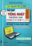 Lifestyle designSách Học Tiếng Nhật Sổ Tay Tiếng Nhật Thương Mại (Có Tiếng Việt)