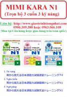 Lifestyle designMimi kara oboeru N1 - Trọn bộ 3 cuốn