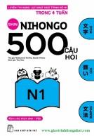 Lifestyle designShin Nihongo 500 Câu Hỏi N1 - Có tiếng Việt