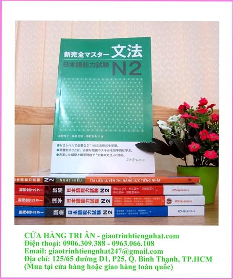 sách luyện thi n2 shinkansen masuta ngữ pháp hình sách