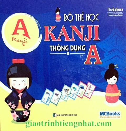 Bộ thẻ học Kanji thông dụng A