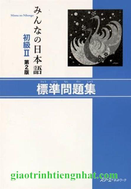 Lifestyle designMinna no Nihongo Sơ Cấp 2 Bản Mới – Hyojun mondaishu (Sách Bài Tập)