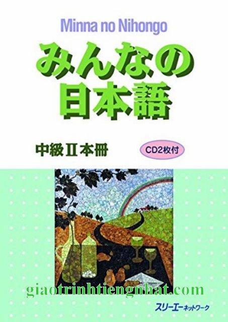 Lifestyle designGiáo Trình Minna no Nihongo Trung Cấp 2 Bản Tiếng Nhật (Kèm CD)