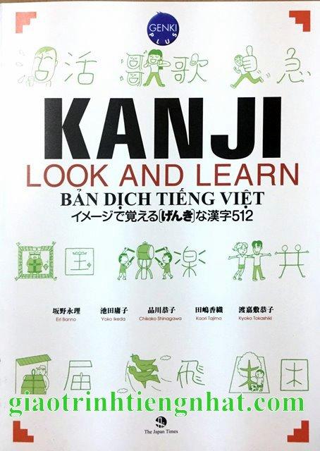 Kanji Look and Learn N5 và N4 – Sách Bài học – Nhật Việt