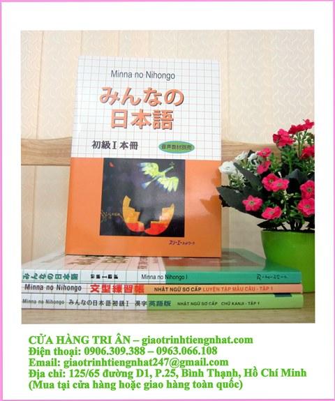 Trọn Bộ Minna No Nihongo Sơ Cấp 1 Bản Cũ  – 8 Cuốn (Cấp Độ N5)