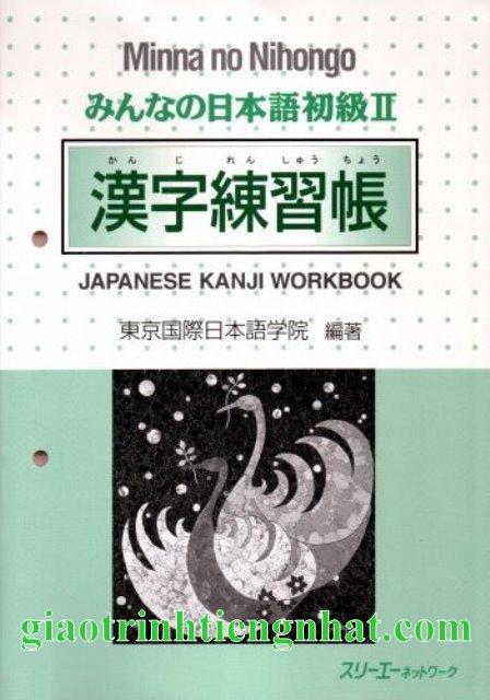 Lifestyle designMinna no nihongo II Kanji Sách bài tập
