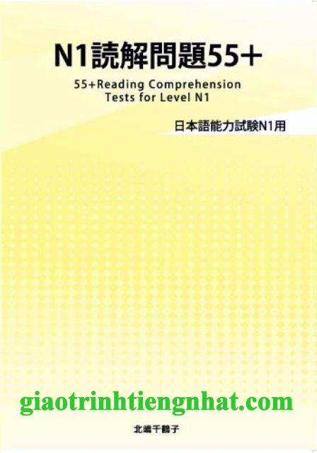 Sách luyện thi N1 Dokkai mondai 55+