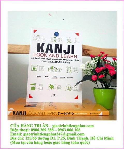 Kanji Look and Learn N5 và N4 – Sách Bài học – Nhật Anh