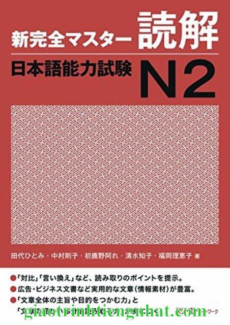 Lifestyle designSách Luyện Thi N2 Shinkanzen Master Đọc Hiểu Dokkai