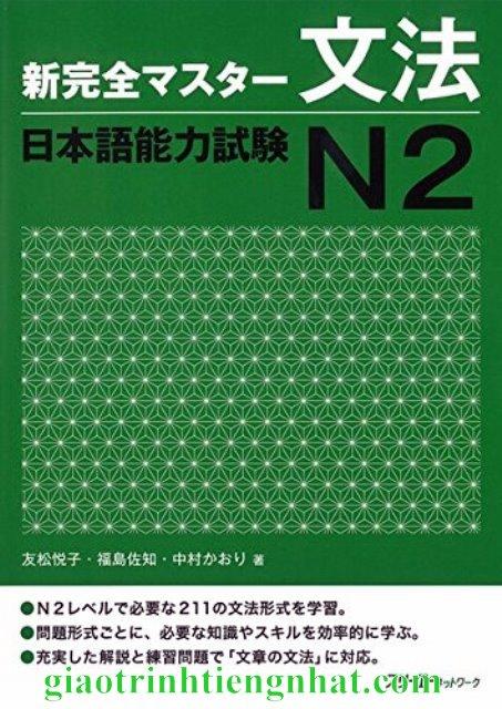 Sách Luyện Thi N2 Shinkanzen masuta Ngữ Pháp