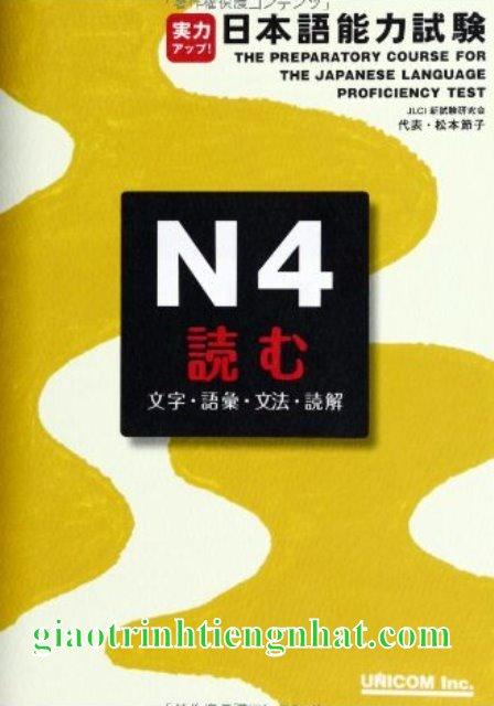 Lifestyle designSách luyện thi N4 Jitsuryoku appu đọc hiểu