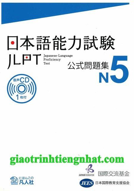 Lifestyle designSách luyện thi N5 Koushiki mondaishuu – Đề thi (Kèm CD)
