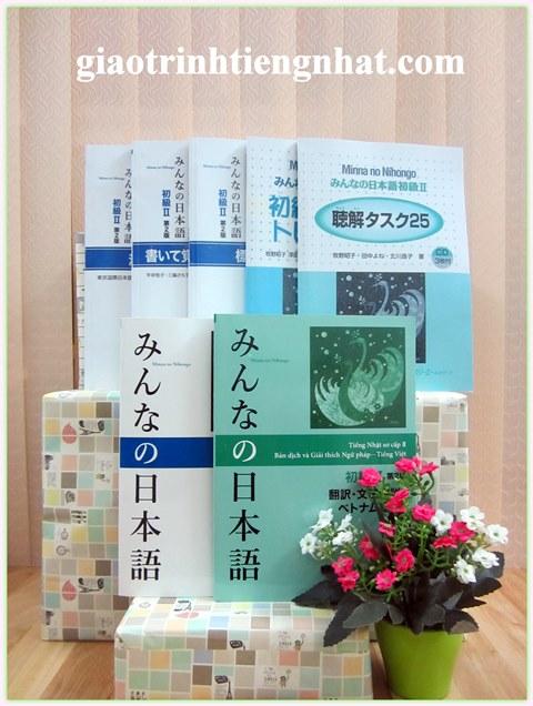 Bộ Giáo Trình Minna No Nihongo Trình Độ N4