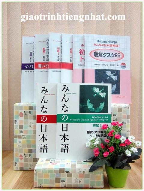 Bộ Giáo Trình Minna No Nihongo Trình Độ N5