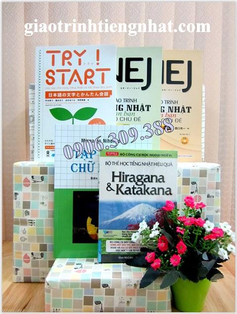 Bộ Sách Học Tiếng Nhật Cho Người Mới Bắt Đầu – Học Cấp Tốc – 5 Cuốn (Có Tiếng Việt)
