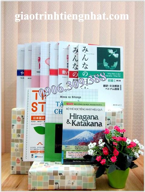 Bộ Sách Tiếng Nhật Dành Cho Người Mới Học – Học Chuyên Sâu
