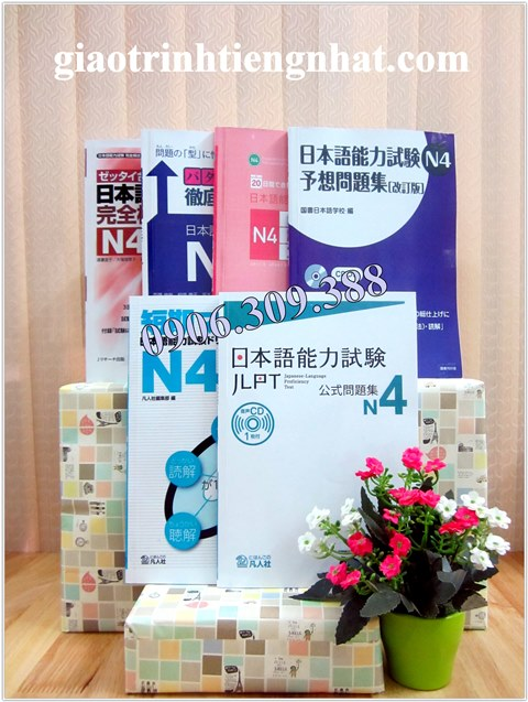Lifestyle designĐề thi mẫu N4 – Trọn bộ 6 cuốn (mới)