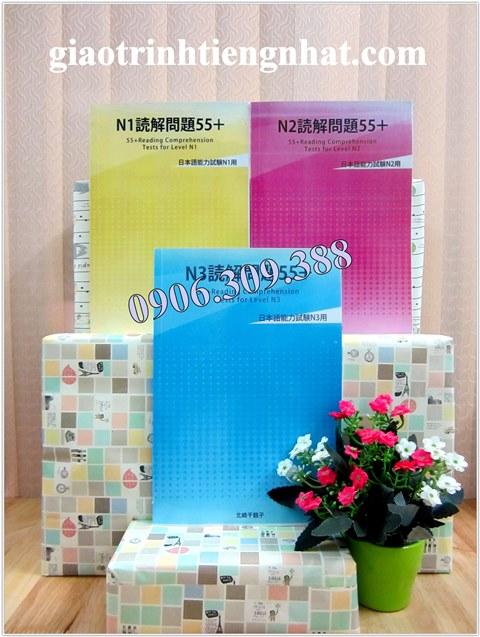 Lifestyle designTrọn Bộ Sách Luyện Đọc Hiểu Dokkai 55 – 3 Cuốn (N3, N2, N1)