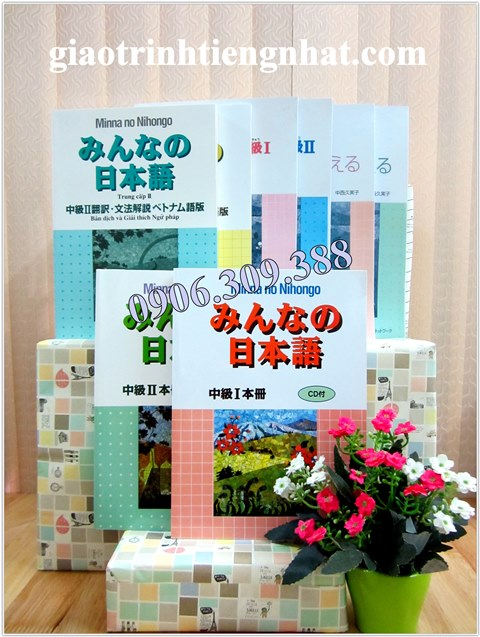 Bộ Giáo Trình Minna No Nihongo Trình Độ N3 và N2 – Trọn bộ 8 cuốn