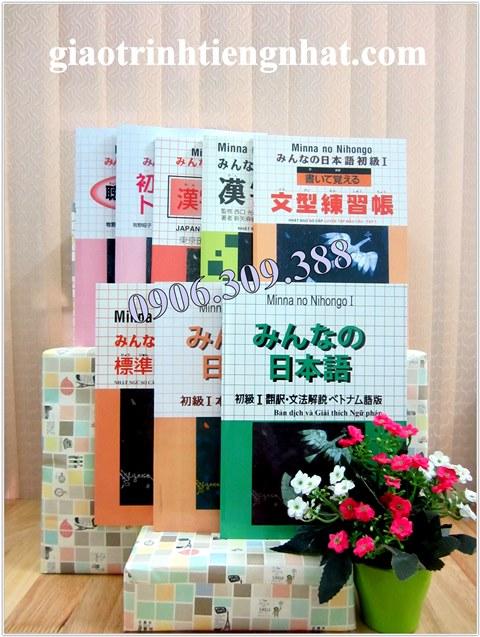 Lifestyle designTrọn Bộ Minna No Nihongo Sơ Cấp 1 Bản Cũ  – 8 Cuốn (Cấp Độ N5)