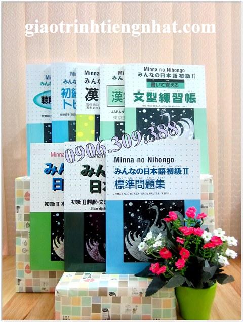 Lifestyle designBộ sách Minna no nihongo II – 8 cuốn