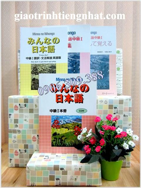 Trọn Bộ Minna No Nihongo Trung Cấp 1 (Cấp Độ N3 – 4 Cuốn)