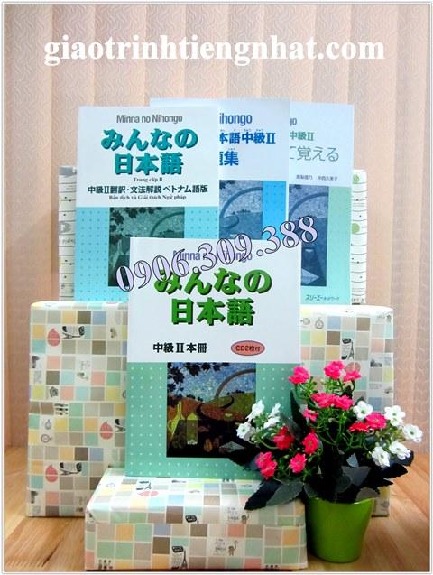 Trọn Bộ Minna No Nihongo Trung Cấp 2 (Cấp Độ N2 – 4 Cuốn)