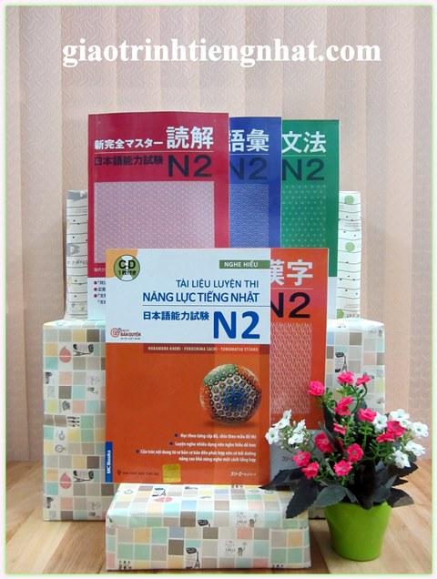 Shin kanzen master N2 – Trọn bộ 5 cuốn