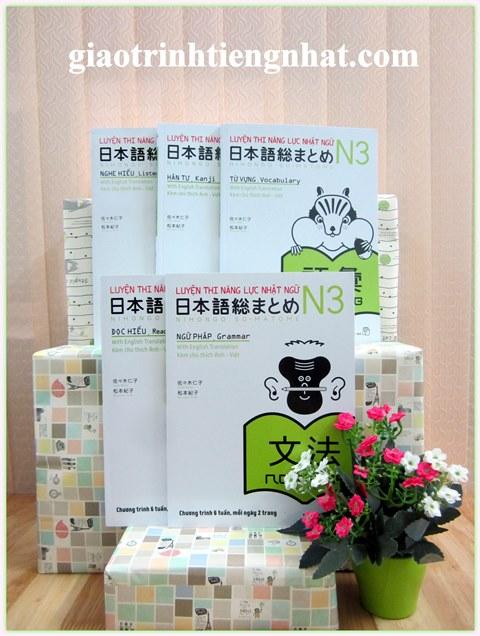 Lifestyle designTrọn Bộ Sách Luyện Thi N3 Somatome – 5 Cuốn (5 Kỹ Năng – Có Tiếng Việt)