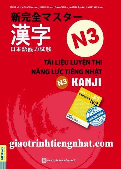 Lifestyle designSách Luyện Thi N3 Shinkanzen Masuta Kanji (Luyện Thi Năng Lực Tiếng Nhật N3 Hán Tự – Có Tiếng Việt)