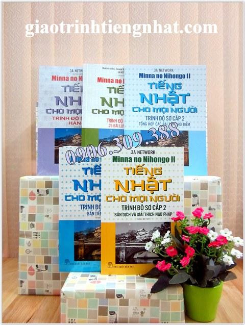 Lifestyle designBộ sách tiếng Nhật cho mọi người Trình độ Sơ cấp 2 - Trọn bộ 5 cuốn