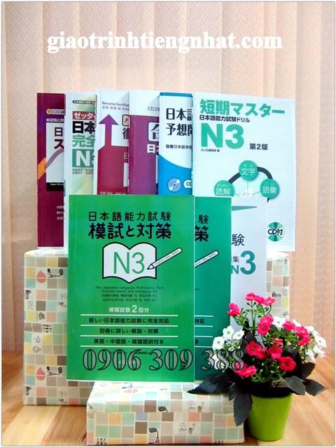 Đề thi mẫu N3 – Trọn bộ 9 cuốn (mới)