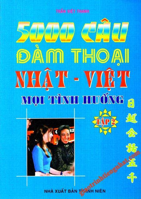 Lifestyle design5000 câu đàm thoại Nhật Việt mọi tình huống Tập 2