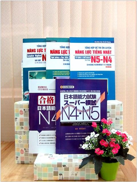 Lifestyle designĐề thi mẫu N4 và N5 – Trọn bộ 5 cuốn