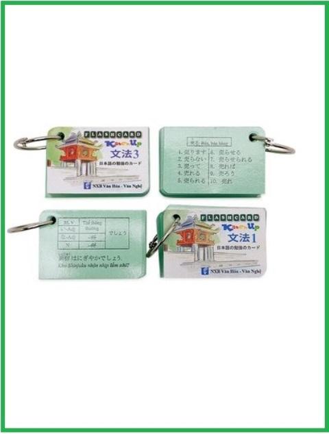 Lifestyle designThẻ học Ngữ pháp Minna Sơ cấp N5 và N4 - 4 xấp, Katchup Flashcard
