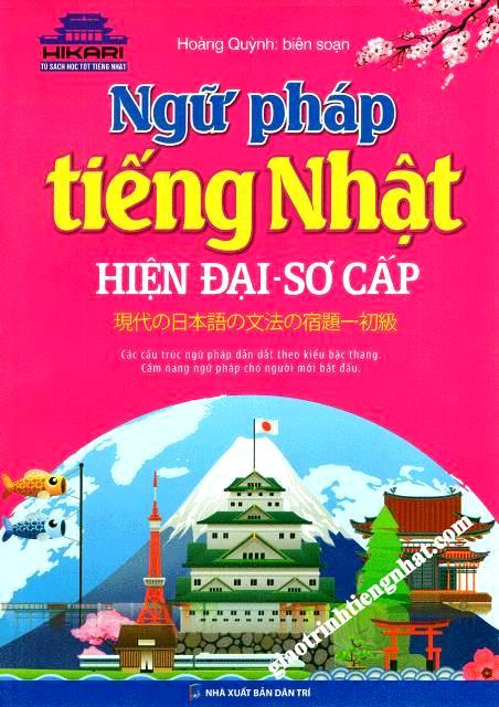 Lifestyle designSách Học Tiếng Nhật Ngữ Pháp Tiếng Nhật Hiện Đại Sơ Cấp (Có Tiếng Việt)