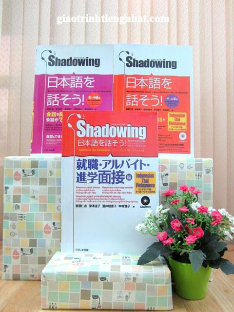 Bộ sách Shadowing – Trọn bộ 3 cuốn