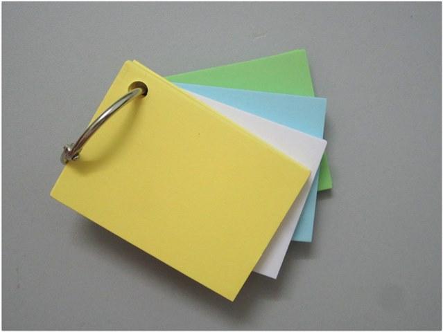 Flashcards Thẻ Học Tiếng Nhật Flashcard Trắng