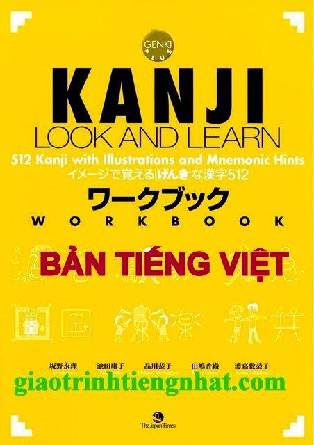 Lifestyle designKanji Look and Learn N5 và N4 –  Sách bài tập – Nhật Việt