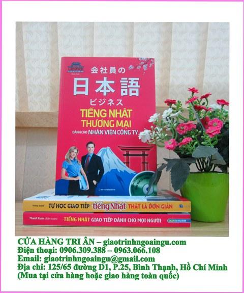 Tiếng Nhật thương mại dành cho nhân viên công ty – Kèm CD