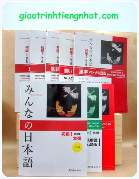Lifestyle designTrọn Bộ Minna No Nihongo Sơ Cấp 1 Bản Mới (Cấp Độ N5 – 8 Cuốn)