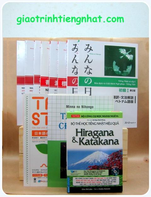 Lifestyle designBộ Sách Tiếng Nhật Dành Cho Người Mới Học – Học Chuyên Sâu