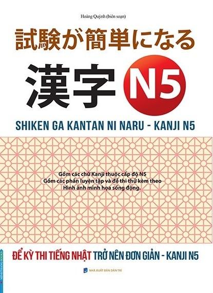 Lifestyle designSách Luyện Thi N5 Để Kỳ Thi Tiếng Nhật Trở Nên Đơn Giản Kanji N5