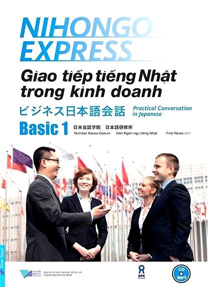 Lifestyle designSách Học Tiếng Nhật Giao tiếp Tiếng Nhật Trong Kinh Doanh Basic 1 (Có Tiếng Việt)
