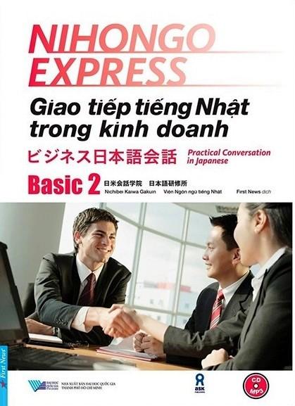 Lifestyle designSách Học Tiếng Nhật Giao tiếp Tiếng Nhật Trong Kinh Doanh Basic 2 (Có Tiếng Việt)