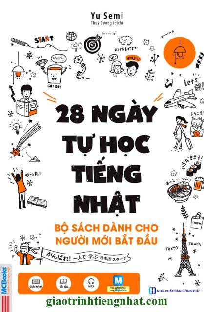 Lifestyle designSách Học Tiếng Nhật 28 Ngày Tự Học Tiếng Nhật – Sách Bài Học (Có Tiếng Việt)