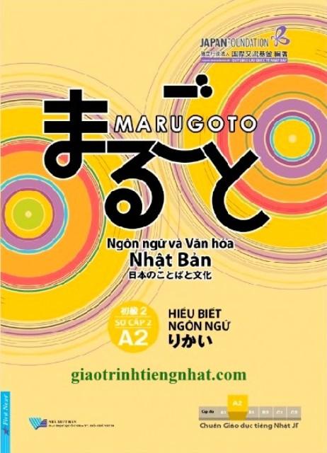 Lifestyle designGiáo Trình Tiếng Nhật Marugoto A2 Sơ Cấp 2 – Hiểu Biết Ngôn Ngữ (Có Tiếng Việt)
