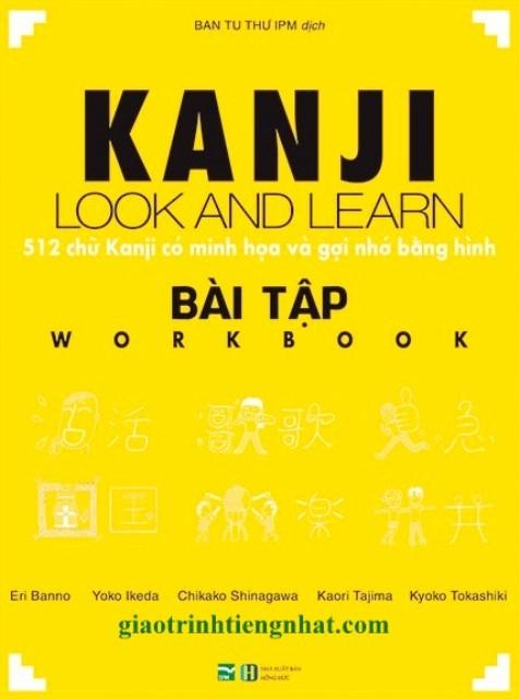 Kanji Look And Learn – 512 Chữ Kanji Có Minh Họa Và Gợi Nhớ Bằng Hình – Bài Tập